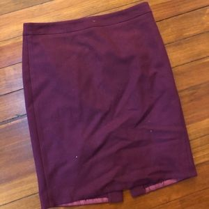 J crew pencil skirt size 8